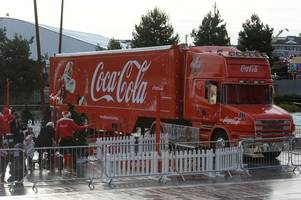 this is why the coca cola truck isn't coming to surrey this christmas