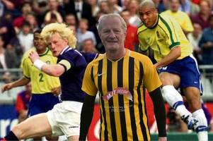 former rangers and scotland skipper colin hendry stars for sunday league pub team aged 52 after answering tweet