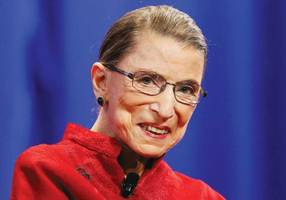 Ruth Bader Ginsburg hospitalized after fracturing three ribs