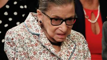 Ruth Bader Ginsburg: US Supreme Court judge fractures ribs in fall