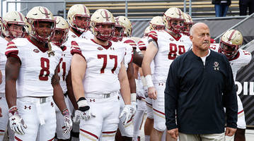 what's better than guys being dudes? a boston college team on the rise