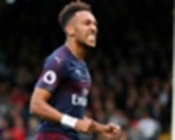 arsenal star aubameyang crowned player of the month for october