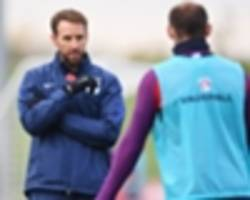 southgate yet to discuss farewell game with rooney