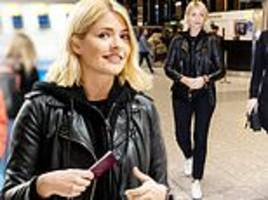 Holly Willoughby PICTURE EXCLUSIVE: I'm A Celeb host jets toAustralia