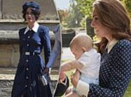 Kate Middleton copies Meghan's Suits co-star Abigail Spencer with polka dot dress after Pippa