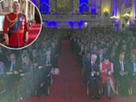 prince andrew shares a behind-the-scenes photo taken inside buckingham palace