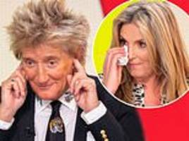 rod stewart and penny lancaster discuss undergoing ivf for their youngest aiden, 7