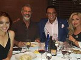 disgraced former met police chief ali dizaei parties in hollywood with 'very good friend' mel gibson