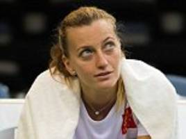 czech petra kvitova to miss first day of fed cup finalagainst the united states due to sickness
