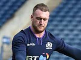 finn russell and stuart hogg are licensed to thrill against fiji at a sold-out murrayfield