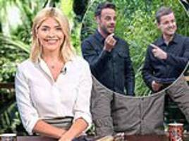 Holly Willoughby insists Ant McPartlin WILL return to host I'm A Celebrity