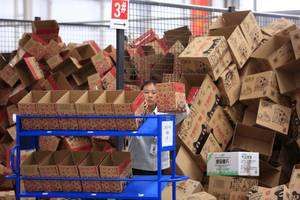 alibaba slides ahead of its singles day shopping event (baba)