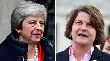 brexit: dup and uk government not on the same page