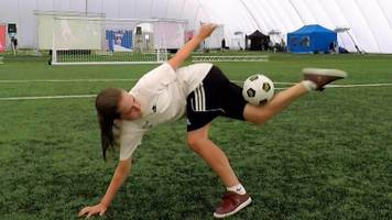 match of the day: can you kick it? kids show off incredible skills