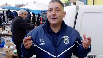FA Cup 2018: Haringey Borough boss Tom Loizu gives BBC Sport great FA Cup value at the club's weekly market