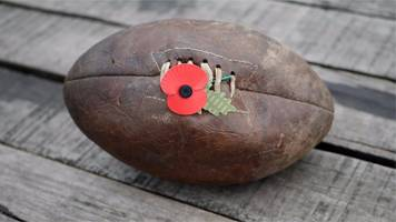 Rugby league stands together to remember WW1
