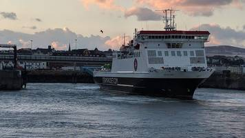 isle of man - heysham ferries cancelled due to severe gales warning