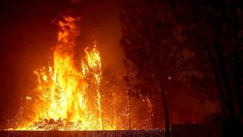 Wildfire In Northern California Growing Rapidly
