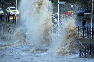 flood alert for bristol and clevedon as met office issues severe weather warning