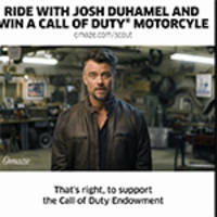 the call of duty™ endowment launches one-of-a-kind omaze experience with actor josh duhamel to support the fight against veteran unemployment
