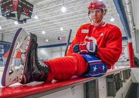 nicklas backstrom to auction off lavender skate blades in honor of his mother, a breast cancer survivor