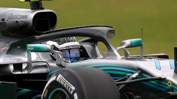 mercedes one-two in brazilian gp second practice