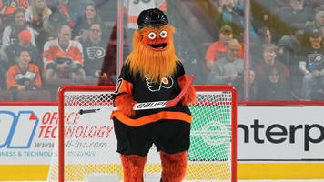 flyers' mascot gritty earns write-in votes in new jersey for midterm elections