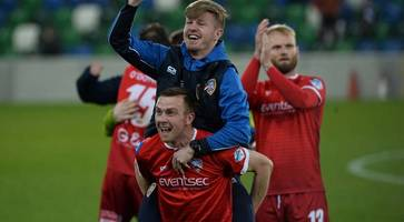 irish league round up: coleraine beat linfield 2-1 for away win at windsor