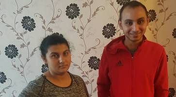 terrified romanian family's narrow escape after race hate arson attack on home