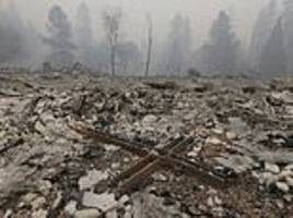 Before and after photos show devastation in Paradise after it was devoured by Camp Fire in 24 hours