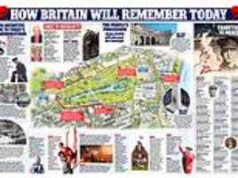 How Britain will remember today: Your definitive guide to the commemorations