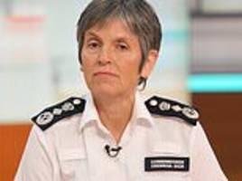 met police chief claims government's has left forces 'hamstrung' in fight against violent crime