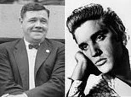 Trump awards Medal of Freedom to Elvis Presley, Babe Ruth and couple who donated $112MILLION to GOP