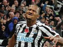 newcastle 2-1 bournemouth: salomon rondon bags brace to down high-flying bournemouth