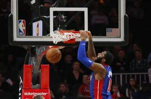 Drummond, Johnson pace Pistons to easy win over Hawks