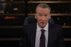 bill maher needs drugs to cope with the nonstop craziness of the trump years (video)