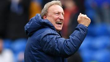 Cardiff 2-1 Brighton: We're getting better every game - Neil Warnock