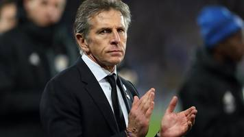 leicester city 0-0 burnley: claude puel praises leicester players after 'tough week'