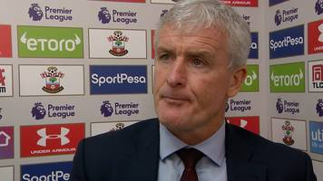 southampton 1-1 watford: hughes criticises referee's performance