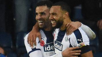 west bromwich albion 4-1 leeds united: baggies score four second-half goals to win