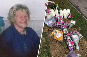 flowers stolen from grandmother's grave hours after she was buried