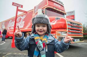 exactly when and where the coca-cola truck tour will be in 2018 - all the dates and locations