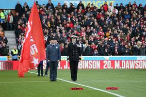 nottingham forest hold minute's silence ahead of armistice day