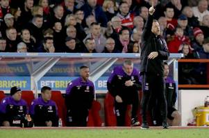 gary rowett jumps to defence of benik afobe after goalless draw at nottingham forest