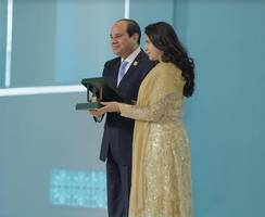 India Shines in Egypt: President Sisi Honors Indian Leader for Women Empowerment