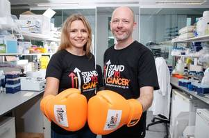 west lothian cancer survivor teams up with leading scientist to help save lives