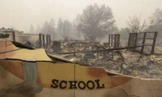 'Everything is gone': California town of Paradise mourns wildfire devastation