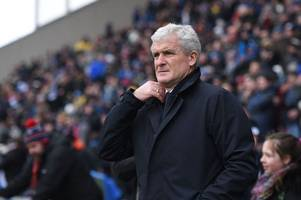 mark hughes has his say on watford penalty call in full-blooded rant at referee