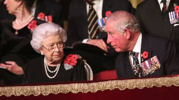 Armistice Day: Queen attends Festival of Remembrance