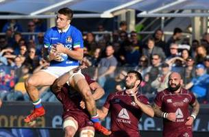 Italy dims talk of 6N demotion after beating Georgia 28-17